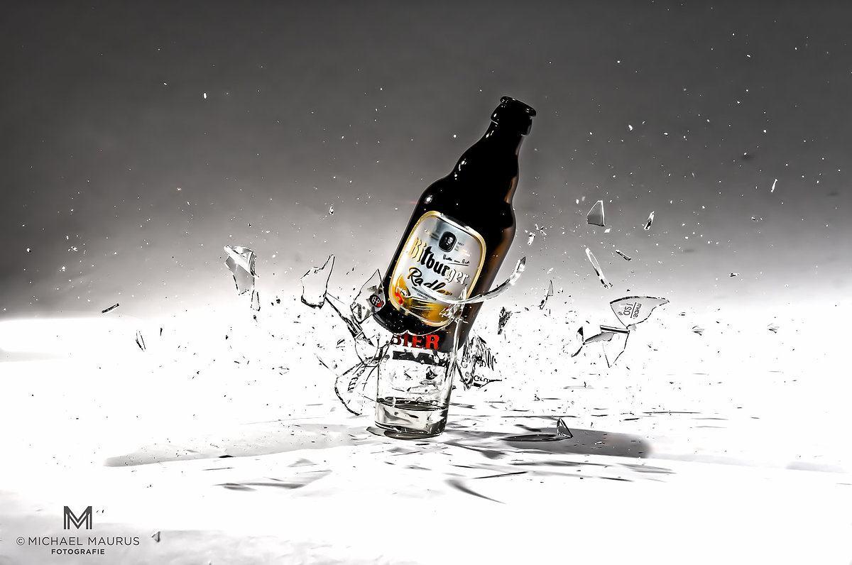 High-Speed-Flasche-